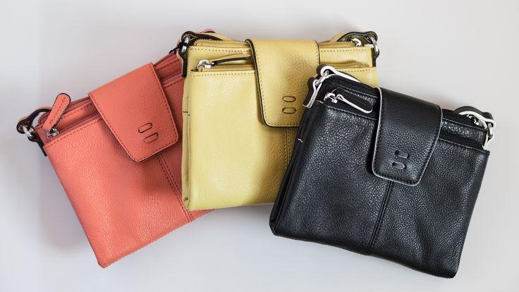 Which color would you choose? | Alex Crossbody | Ellington Handbags