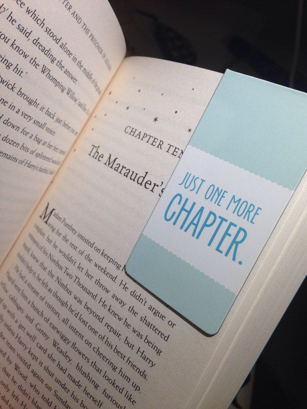 When you buy a new bookmark and don't have to resort to dog-earing your pages. | 19 Extremely Satisfying Moments For Book Lovers