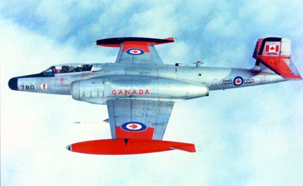 Avro CF-100 Canuck - Royal Canadian Air Force (RCAF), Canada