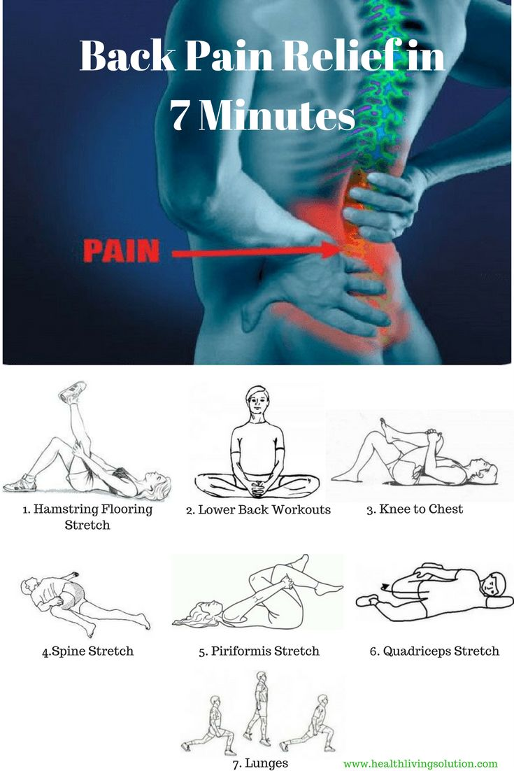 If your low back is feeling stiff, achy and about to spasm (or you're already there), then do the following stretches. Try performing this sequence three times a day. Once the pain is considerably less, you can reduce the sequence to once a day and ultimately three to four times per week.