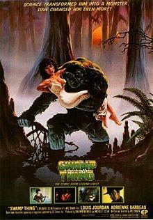 Swamp Thing.  Self-explanatory.
