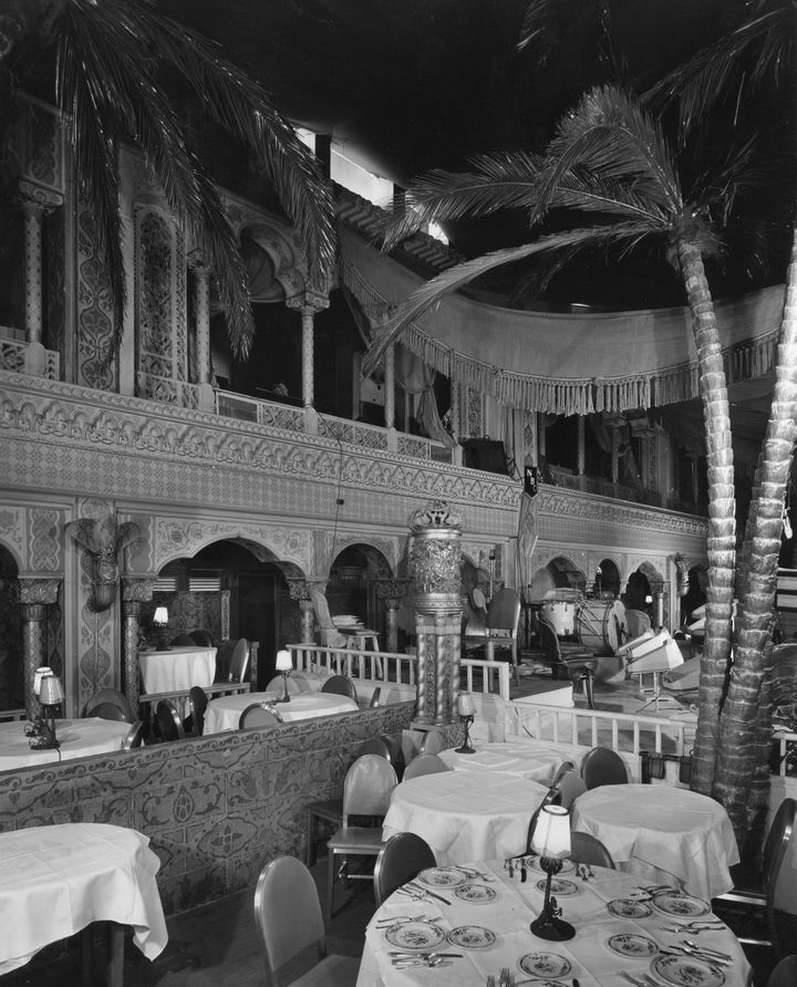 The Cocoanut Grove...The Ambassador Hotel was a hotel in Los Angeles , California , and location of the Cocoanut Grove nightclub until it was demolished in 2005