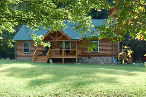 The 25 best ideas about log cabin modular homes on for Log cabin additions ideas