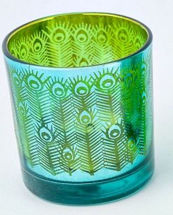 Peacock Tealight Holder $7 at www.graceandlace.com.au