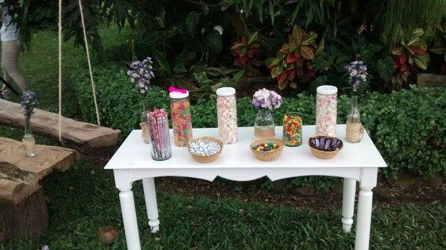 Mesa dulces niños