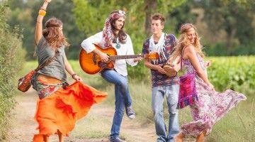 Volve a sentirse un hippie.