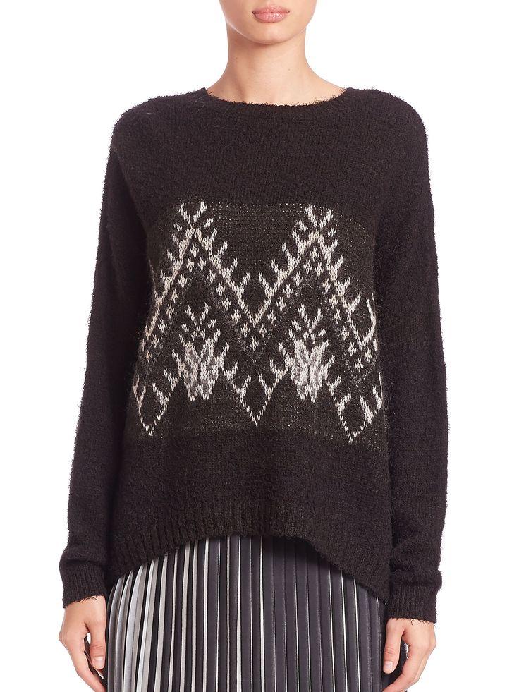 DKNY Fair Isle Sweater