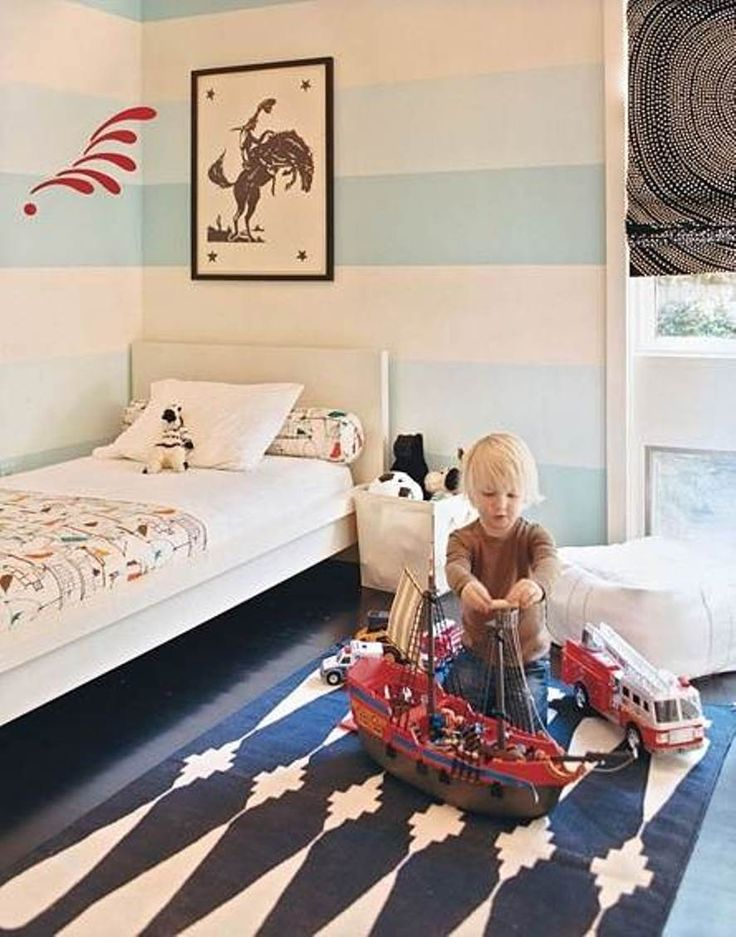 Infant Boys Room: Easy And Cool Toddler Boy Bedroom Ideas
