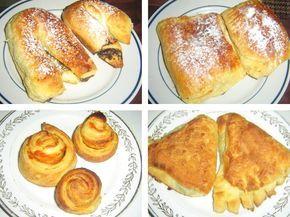 """Šneky, croissanty, kapsičky či taštičky plněné čokoládou, žloutkovým krémem, špenátem, sýrem. Rychle jsme si zvykli na typ pečiva, které je nadýchané a křehké, ale přitom vláčné. Najdeme jevkaždém evropském pekařství. Není nejlevnější, což je asi jediná jeho """"vada na kráse"""". Jenže to nám nemusí vadit. Pečivo lehké jako dech můžeme upéct doma. Nevyjde draho a každému dopřejeme, co hrdlo ráčí. Při dodržení receptury se povede i napoprvé. Je to vyzkoušené. Co na to naše prababičky? Kdyby ..."""