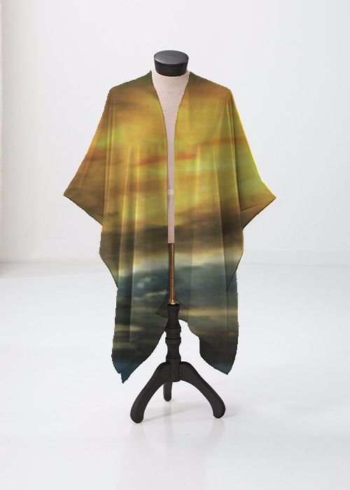 Modal Scarf - Quiet on the Lake by VIDA VIDA AYWnYgMpq