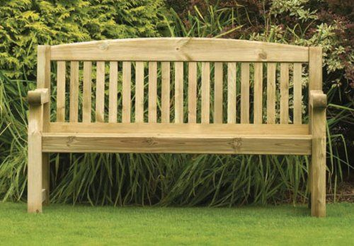 Garden Bench Heavy Duty 3 Seater Pohs Network Garden
