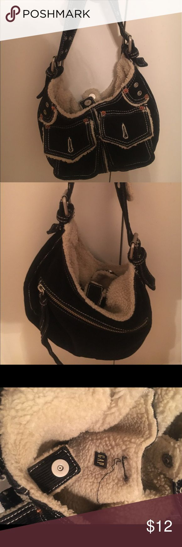 Black corduroy GAP purse Great condition GAP Bags Shoulder Bags