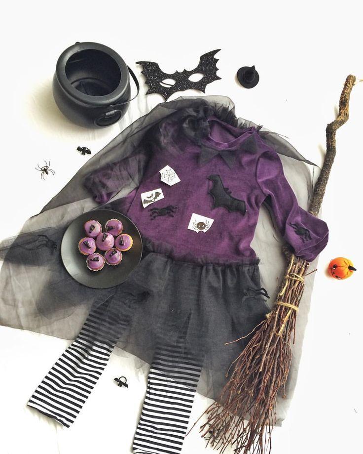 Halloween costume / hexenkostüm Kinder   Witch costume