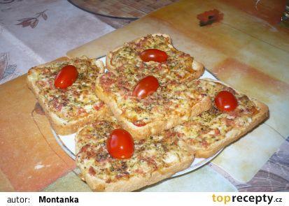 Dřevorubecký toast recept - TopRecepty.cz