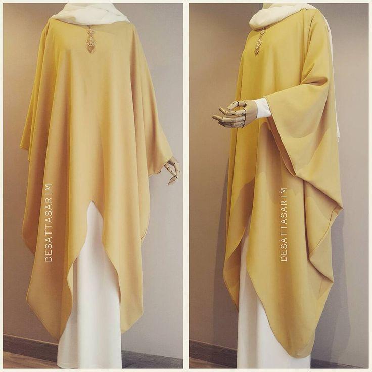 """613 mentions J'aime, 29 commentaires - Yasemin Deşat (@desattasarim) sur Instagram : """"Sari v tunik 250tl ekru salaş elbise 130tl ▫Bu ürün dış kıyafet olarak üretilmemiştir…"""""""
