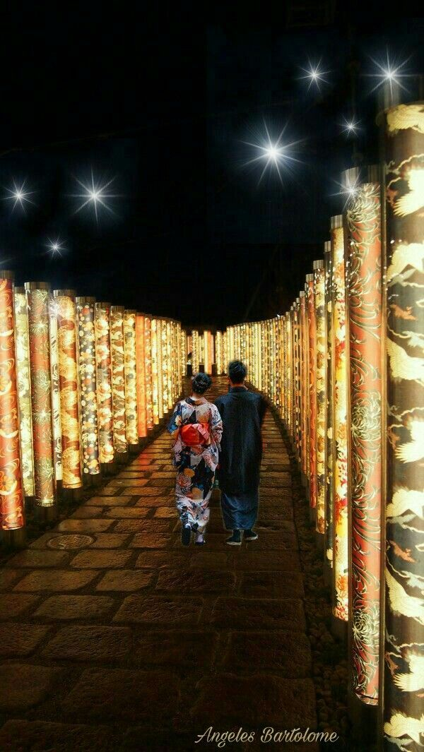Fhe Magical Kimono Forest fábrica  Kyoto  Japón