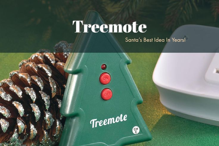 No More Crawling Under The Tree To Turn It On Get Yourself A Treemote Review   Giveaway