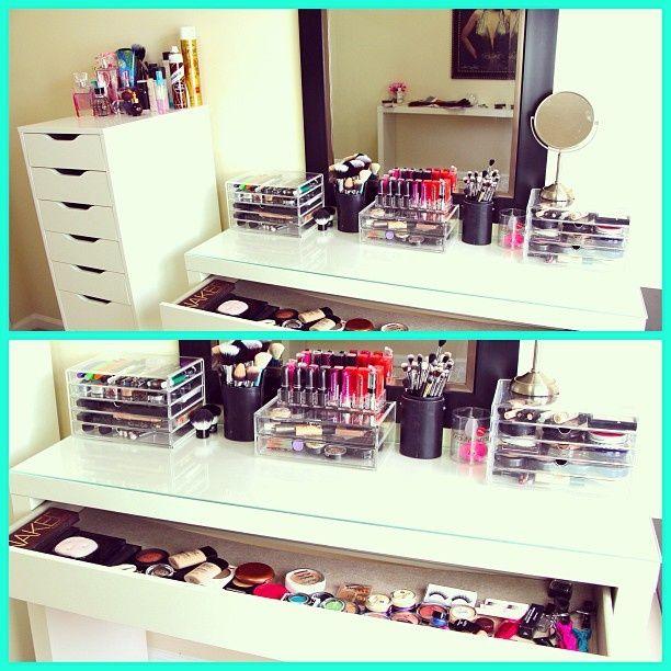 Makeup Storage Ikea Ikea Dressing Table And Makeup