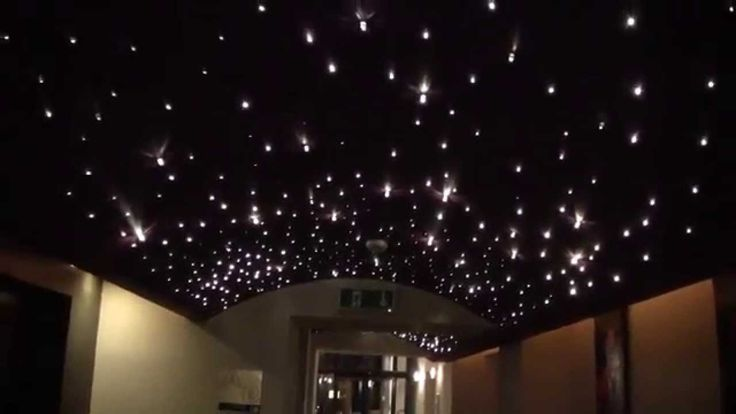 Fiber optic star. Lighting fiber optics. Star ceiling. Fiber-optic-star-...