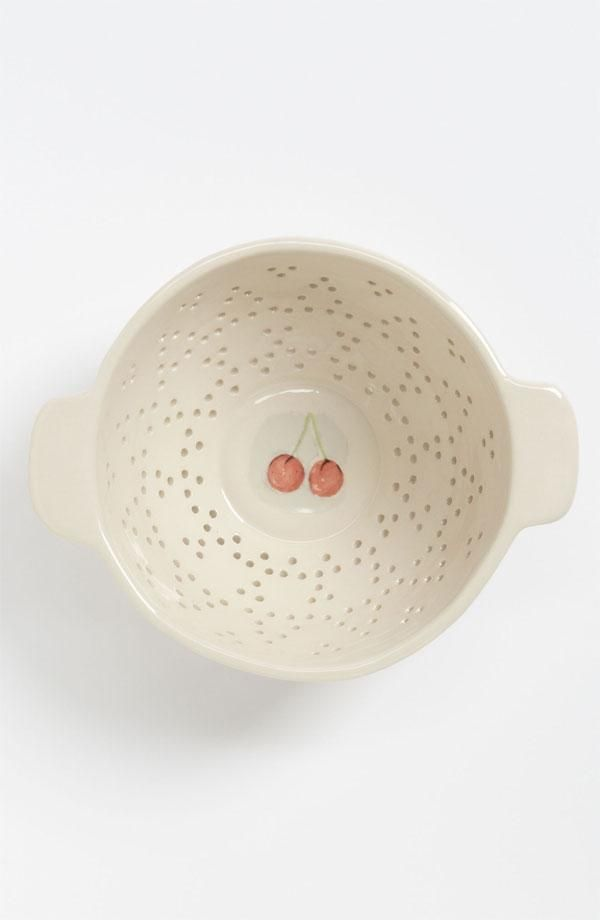 Small Fruit Colander with cherries
