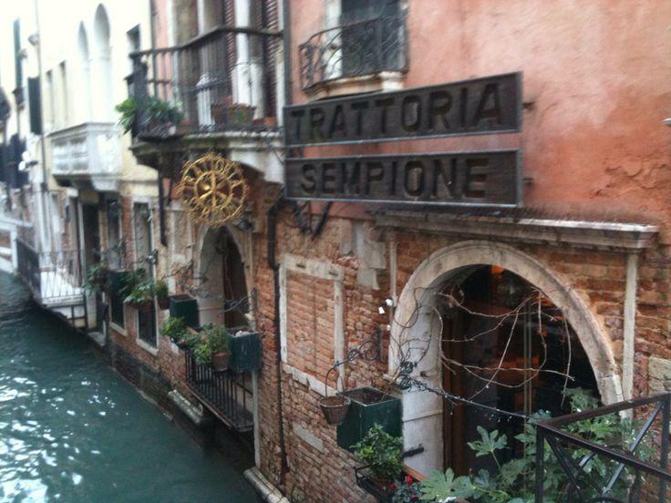 Una trattoria. Venice. 2011.