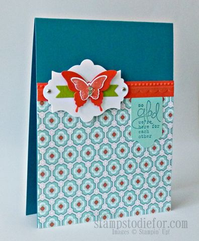 Stampin' Up! Card  by Patsy Waggoner at Stamps to die for!