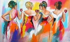 Afbeeldingsresultaat voor vrolijke schilderijen