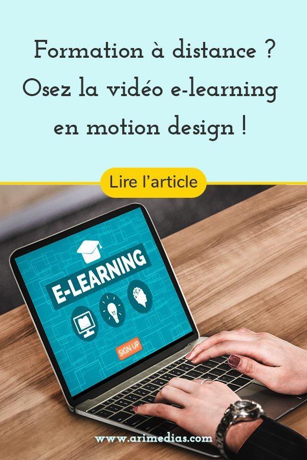 E Learning En Video Motion Design Arimedias Production Audiovisuelle Formation A Distance Motion Design Gestion De Crise