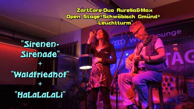 """""""Sirenen- Sirenade"""" + """"Waldfriedhof"""" + """"HaLaLaLaLi"""" von und mit ZartCore..."""
