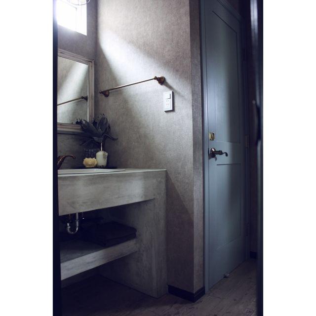 コンクリート打ちっ放し/マイホーム/造作/注文住宅/新築/カクダイの水栓…などのインテリア実例 - 2015-04-08 15:56:58 | RoomClip(ルームクリップ)
