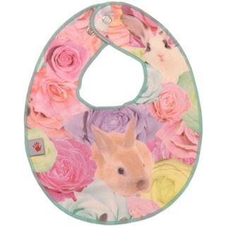 Molo Nona Bib - Rabbit Rose