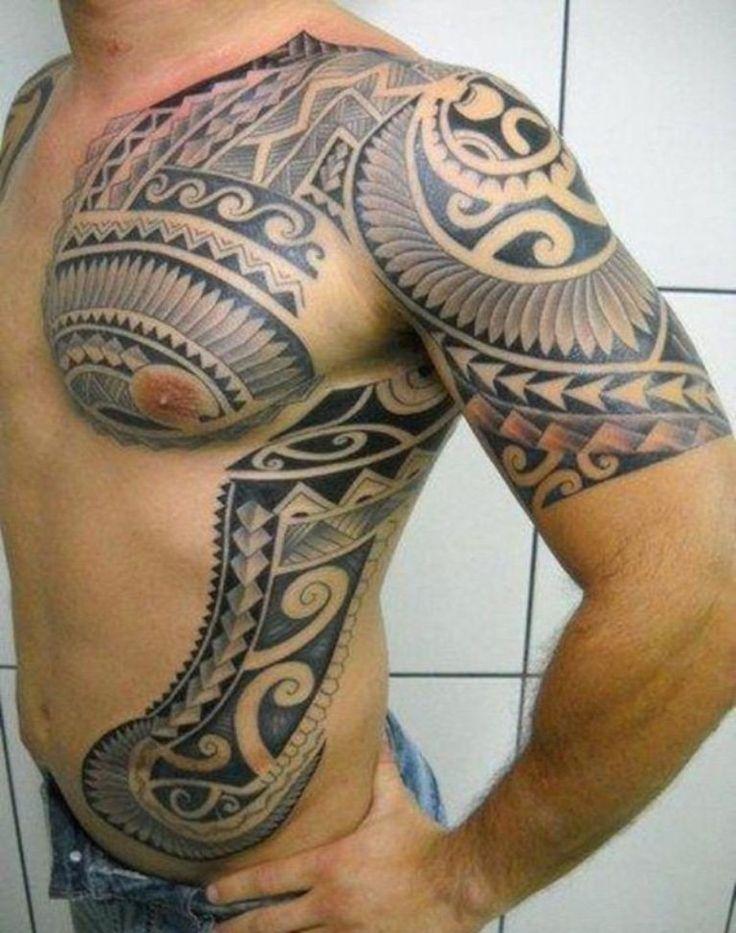 Tribal Tattoo for Men Shoulder