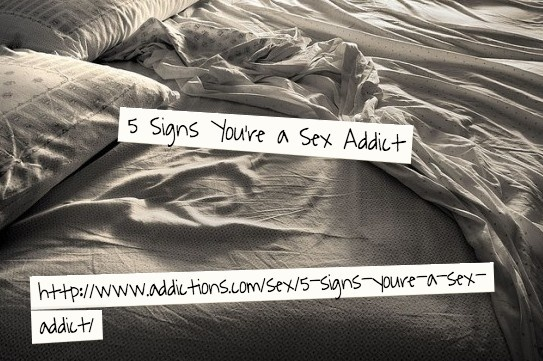 Signs you are dating a sex addict