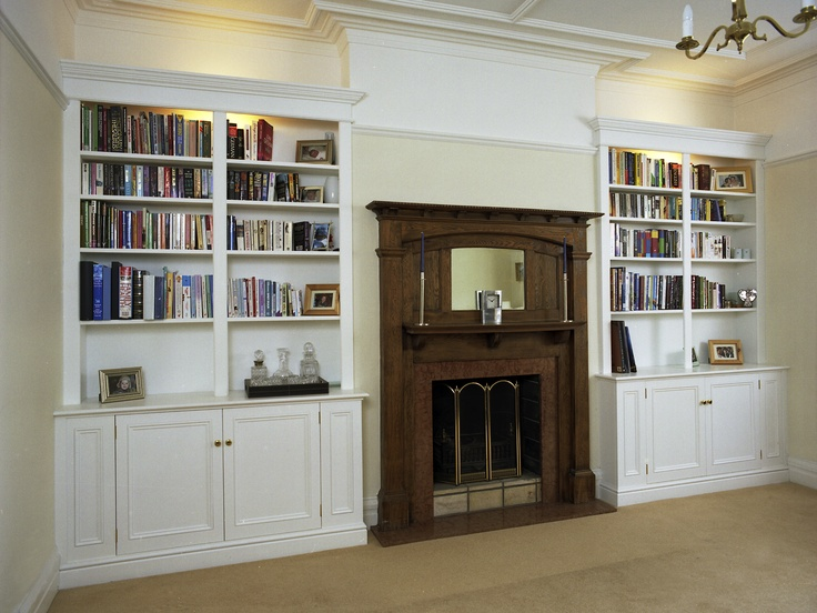 Bookcases and cupboards for a 1930's house.