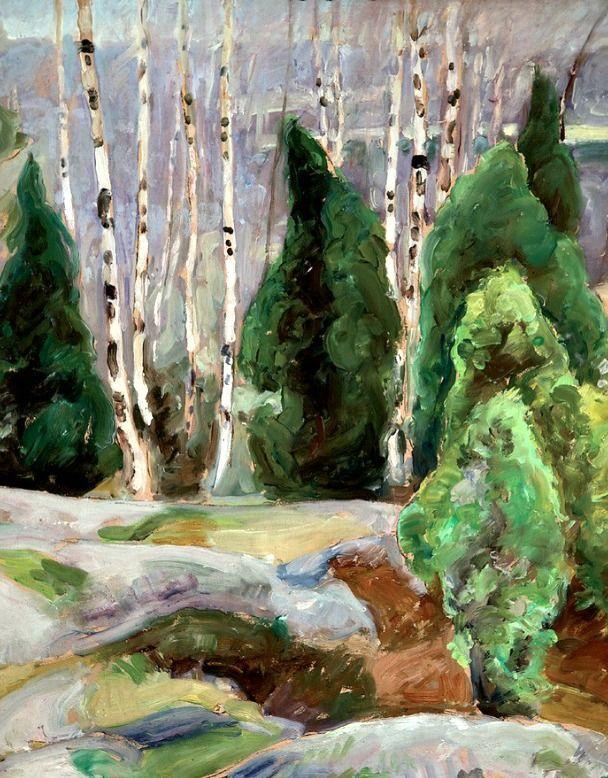 bofransson: Pekka Halonen - Cliffs in the Spring