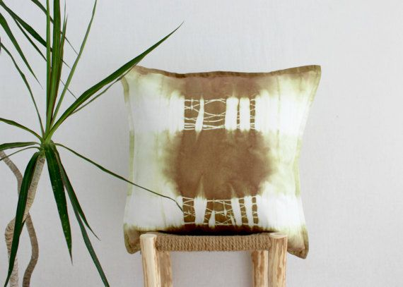 WARRIOR . tie dye cushion cover . pillow . throw by bohemianbabes