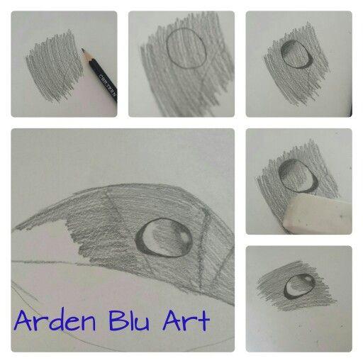 Water Drop Pencil Drawing