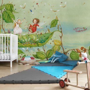 Bilderwelten Kinderzimmer Vliestapete Breit »Erdbeerinchen Erdbeerfee«