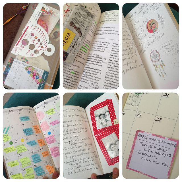 How I use my Midori Traveler's Notebook for crafting & blogging by Crafts from the Cwtch, via Flickr