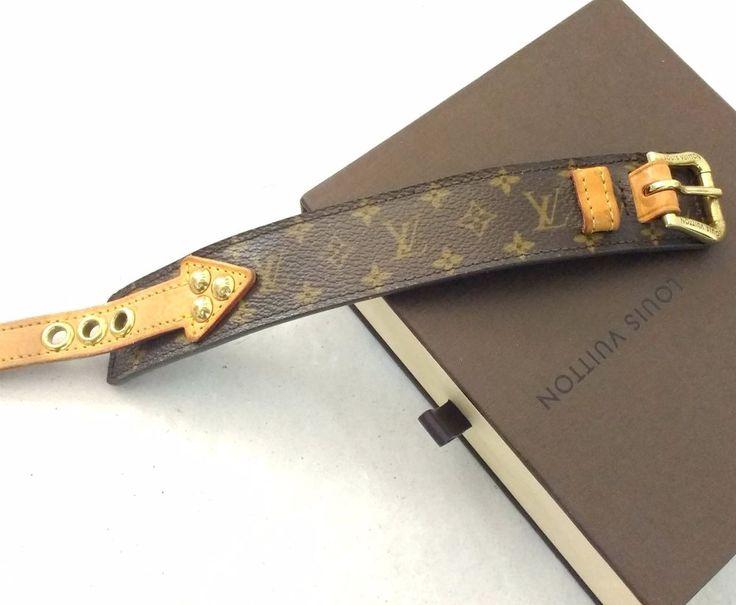 LOUIS VUITTON limitiertes Armband ausverkauft Lederarmband Monogram aus Sammlung | Uhren & Schmuck, Luxus-Accessoires, Sonstige | eBay!