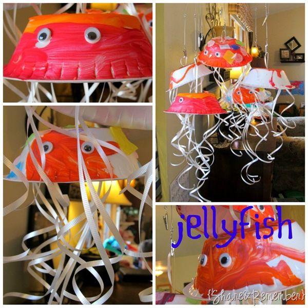 preschool craft jellyfish: Party Favors, Ocean Theme, Preschool Letter, Craft Jellyfish, Bowl Jellyfish, Jellyfish Shape, Classroom Ideas, Party Ideas