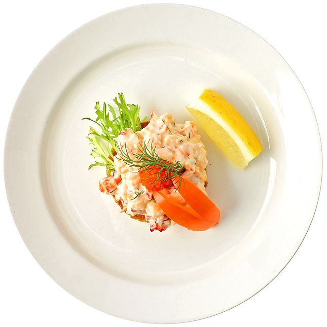Toast skagen på kräftstjärtar | Recept från Köket.se