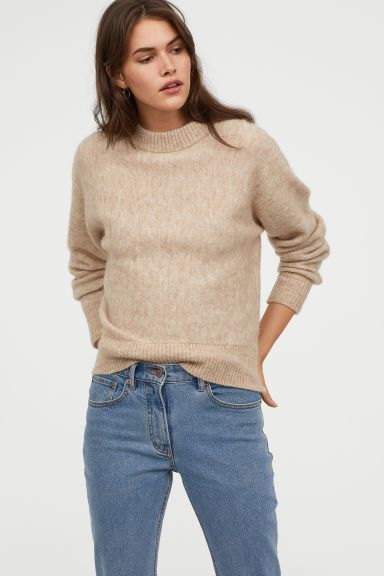 dfd7f35461f2c Knit Mohair-blend Sweater in 2019