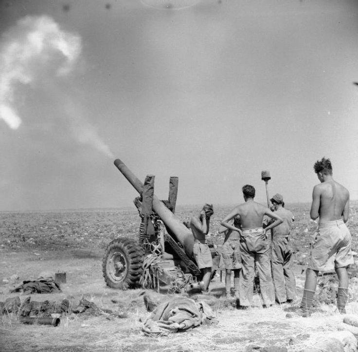 NORTH AFRICA 5.5-inch Gun Of 212nd Medium Regiment, Royal