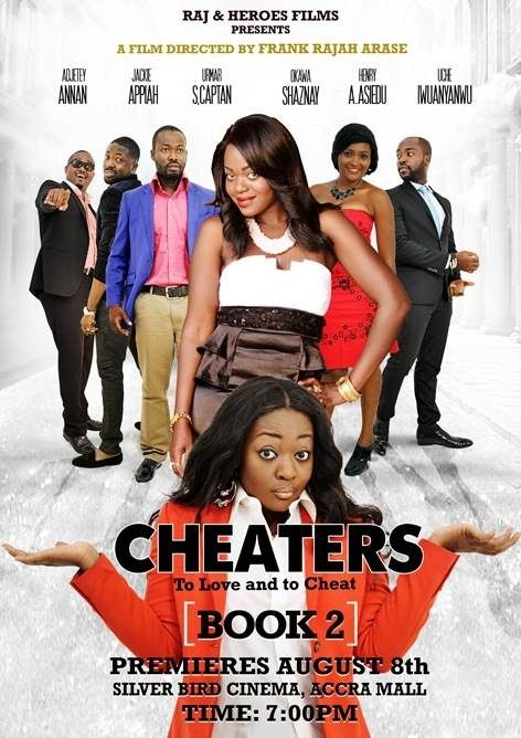 Cheaters Book 2 starring Adjetey Annan and Jackie Appiah #Movie #Poster: Movie Posters, Cheaters Book, Starring Adjetey, Appiah Movie, Adjetey Annan
