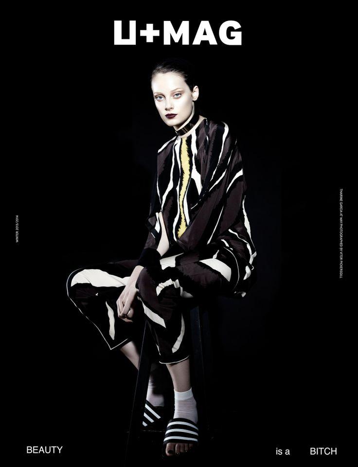 Thairine Garcia by Vitor Pickersgill in U+Mag Winter 13/14