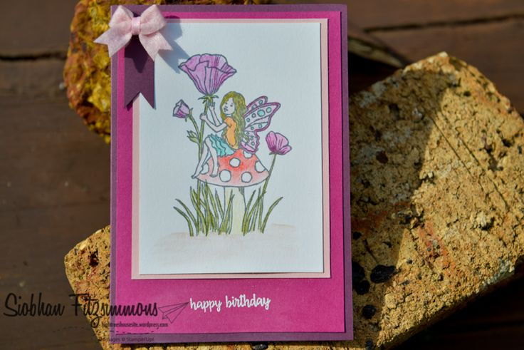 Stampin Up! Fairy Celebration - Stampin Up! Annual Catalogue 2017/18 - Paper Adventures Team blog hop - Fairy