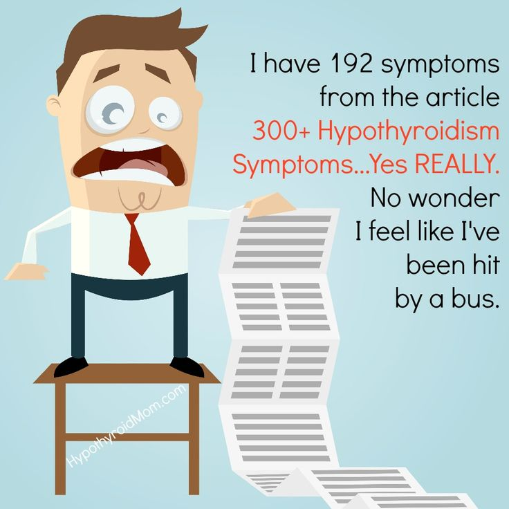 I have 192 symptoms from the article 300+ Hypothyroidism Symptoms...Yes REALLY. No wonder I feel like I've been hit by a bus. #hypothyroidism