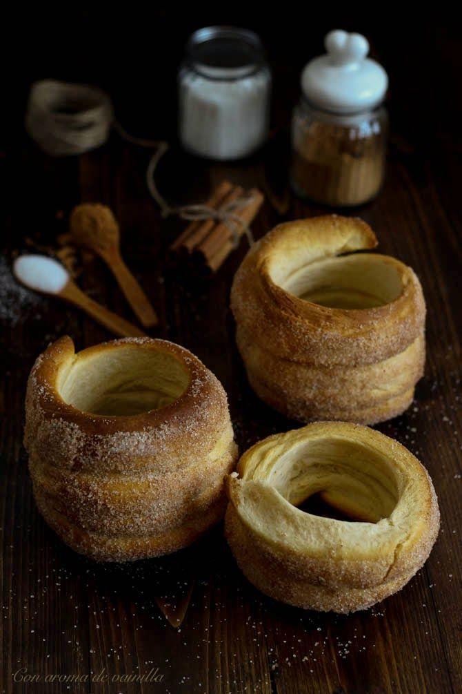 Trdlos, trdelnik, chimney cake o bollos chimenea | Con aroma de vainilla