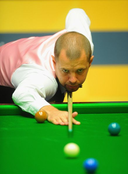 Barry Hawkins (England), very serious man